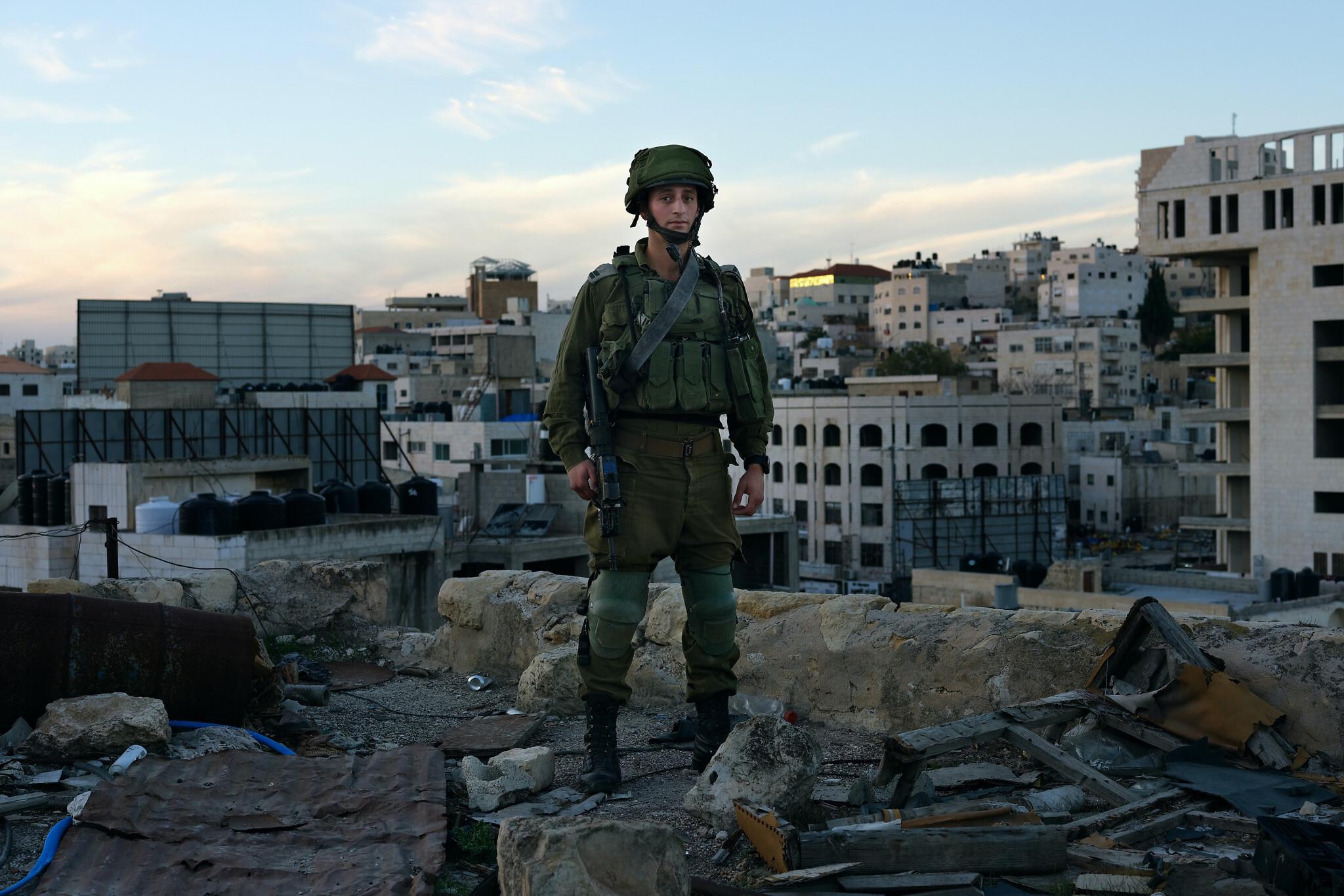 'Josh, 22. West Caldwell, New Jersey, USA, Infantry Platoon Commander' (Brant Slomovic)