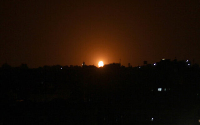 Israel strikes Hamas targets after Gaza rocket fire