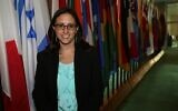 Sarah Weiss-Maudi (Israeli Mission to the UN)