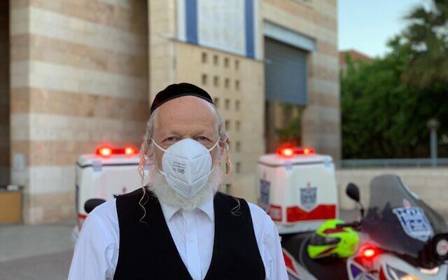 Yehuda Meshi-Zahav (courtesy of ZAKA)
