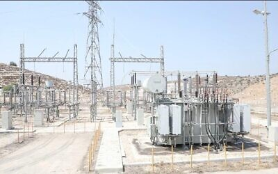 A new West Bank power station which Israel has transferred to Palestinian control (IDF Coordinator of Government Activity in the Territories)