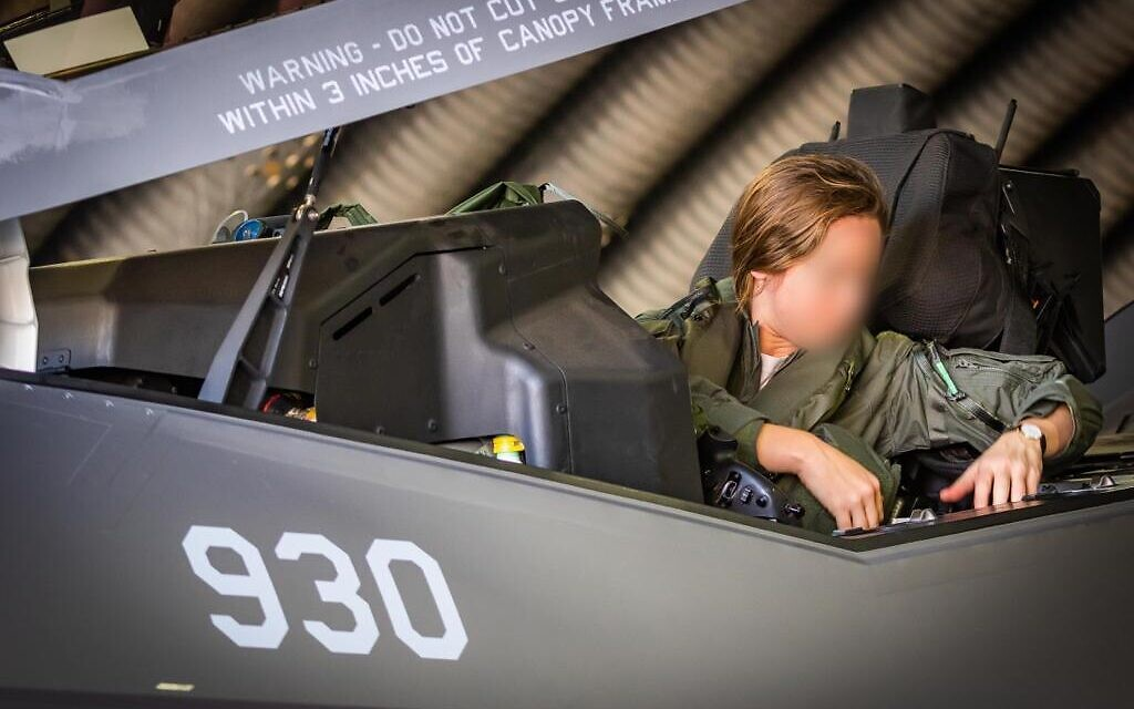 Israel's only female F-35 pilot named deputy commander of squadron
