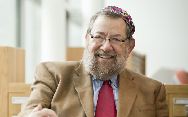 Rabbi Art Green's forthcoming book is a translation of Torah discourses from the 18th-century Hasidic master Rabbi Menahem Nahum of Chernobyl. (Hebrew College/ via JTA)