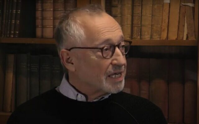 Professor Paul Milgrom is interviewed at Cambridge University, November 2019 (Screen grab/YouTube)