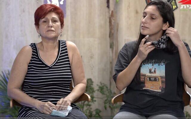 Orna and Natalie Kimchi (Facebook screenshot)