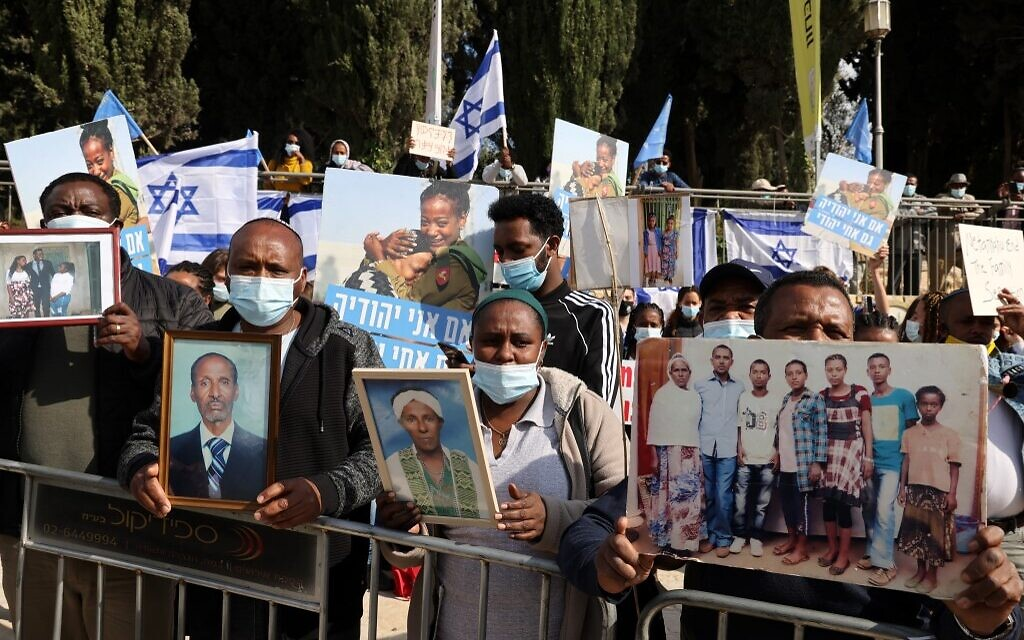 Ethiopian Israelis beg government to airlift relatives from war-torn country