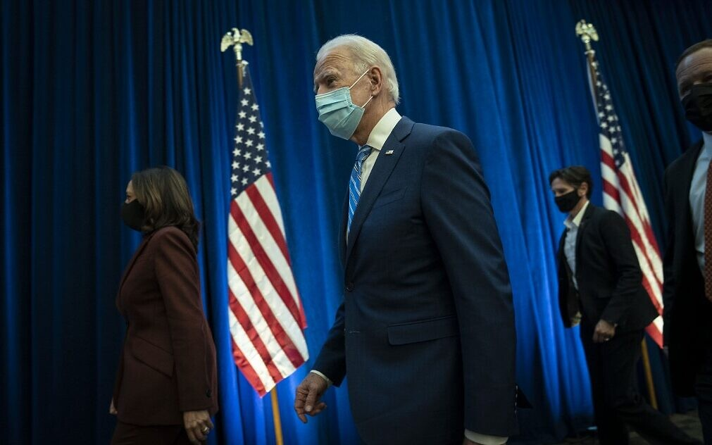Twitter flags 'president-elect Biden' posts as premature | The Times of Israel