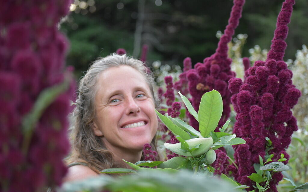 Sephirah Stacey Oshkello co-founded the Living Tree Alliance, a Jewish cohousing community and farm on 91 acres in Vermont tagged 'the kibbutz reimagined.' (Courtesy of Oshkello/ via JTA)