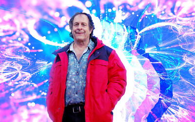 Rick Doblin is a leading advocate for the use of MDMA in psychotherapy. A clinical trial he championed produced favorable results this year. (Ben Harris/ illustration by Grace Yagel/ JTA)