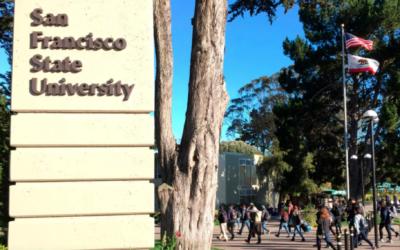 San Francisco State University. (Courtesy/J. the Jewish News of Northern California via JTA)