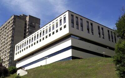 Illustrative: The 'Cardiocentro' of the Civico hospital in Lugano, Switzerland, July 11, 2004. (AP Photo/Keystone, Karl Mathis)