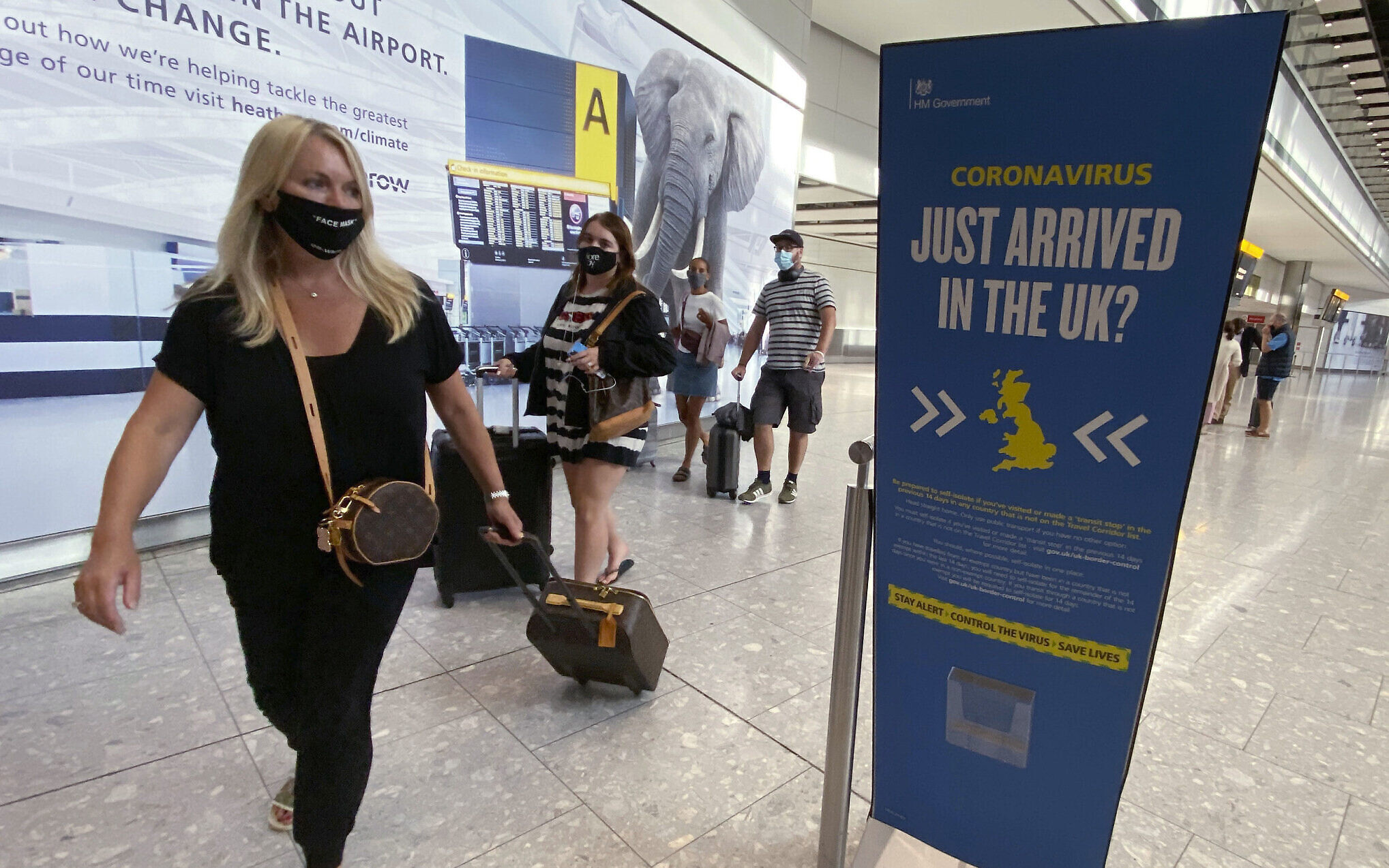 Britain warns new strain out of control as European nations start to ban flights
