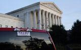 The Supreme Court is seen in Washington, Thursday afternoon, November 5, 2020. (AP Photo/J. Scott Applewhite)