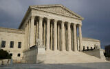 The US Supreme Court building in Washington, May 3, 2020. (AP Photo/ Patrick Semansky)