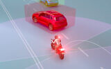 Ride Vision hopes to put an end to motorbike accidents by alerting drivers to risky driving and road conditions (Courtesy)