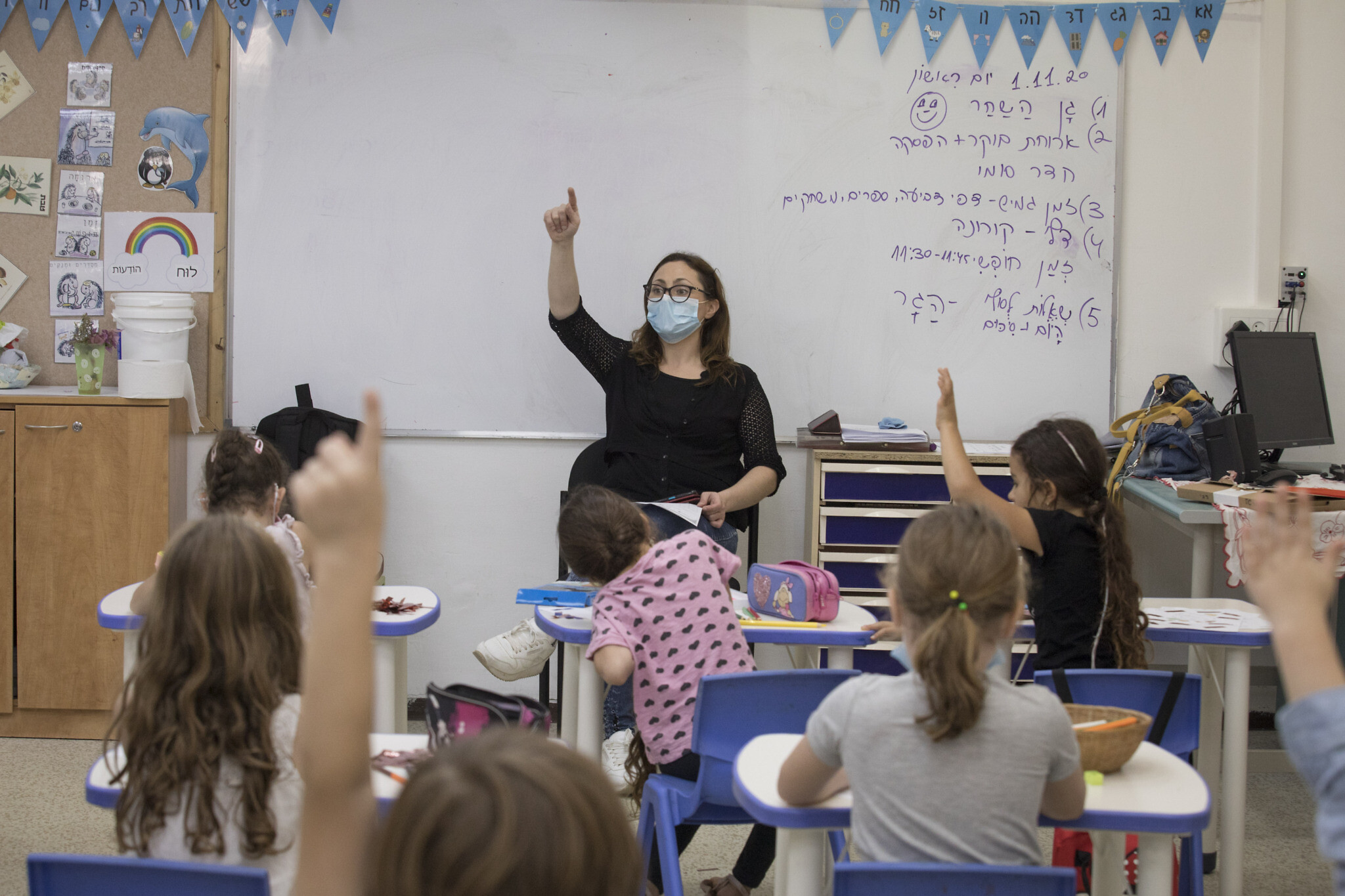 Increased child infection rates cast doubt on school reopenings