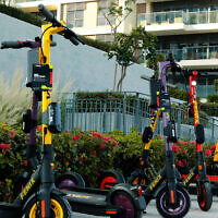 The electric scooters of UAE-based Fenix (Courtesy)