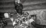 An undated photo of Germew Gete in army uniform. (Courtesy,