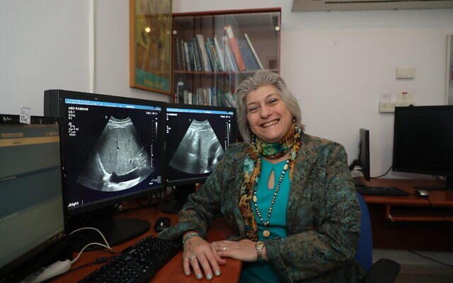 Dr. Marcia Javitt in her office. (Jared Bernstein/ Courtesy)