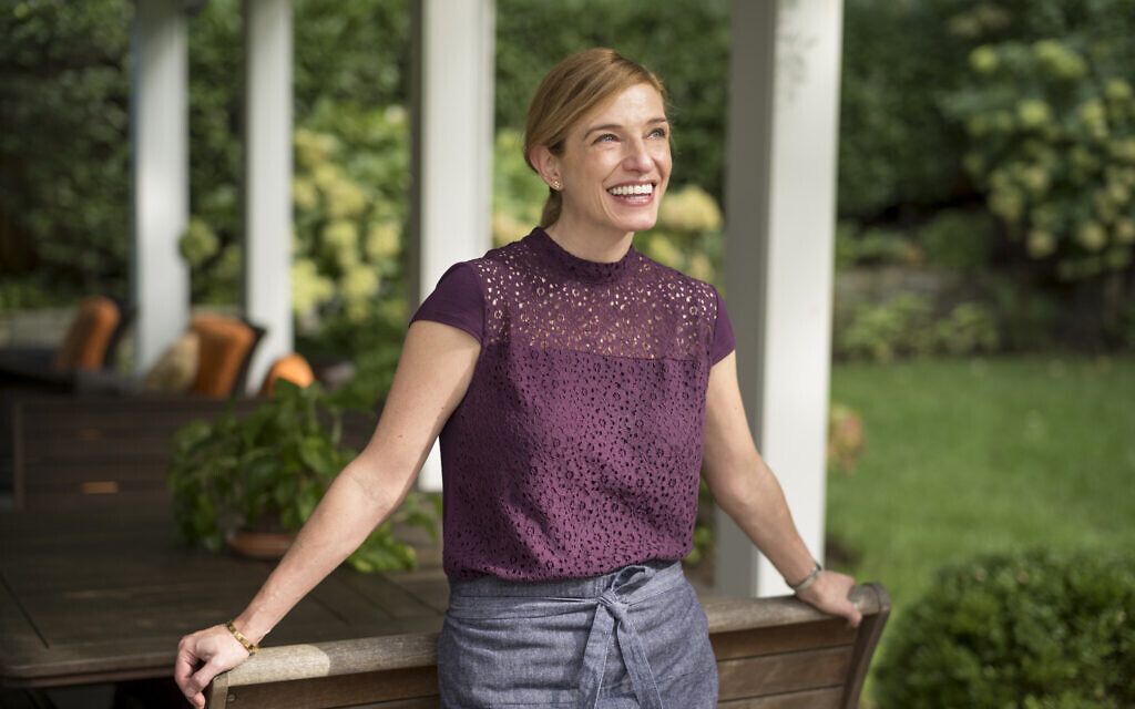 Celebrity chef Pati Jinich at her home in Chevy Chase, Maryland. (David Butow/ the Times/ courtesy of Jinich)