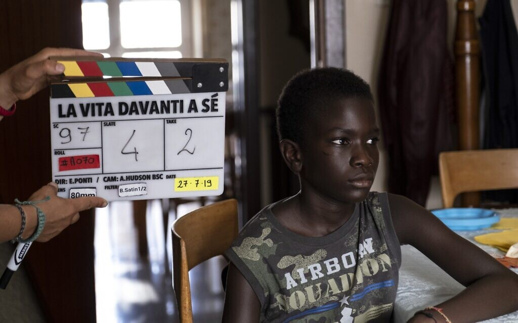 Ibrahima Gueye as Momo in 'The Life Ahead,' directed by Edoardo Ponti. (Courtesy)