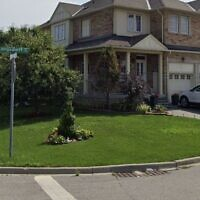 Langsdorff Drive in Ajax, Ontario. (Screen capture: Google Street View)