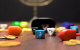 A game set of Dreidel Revolution. (Courtesy)
