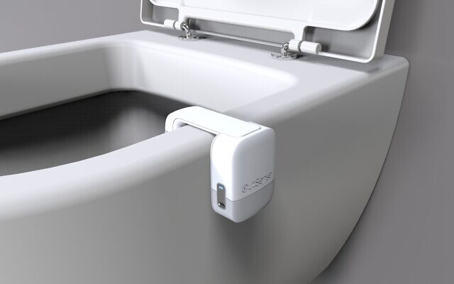 OutSense's IoT device transforms toilet bowls into smart systems that can warn of ailments (Courtesy)