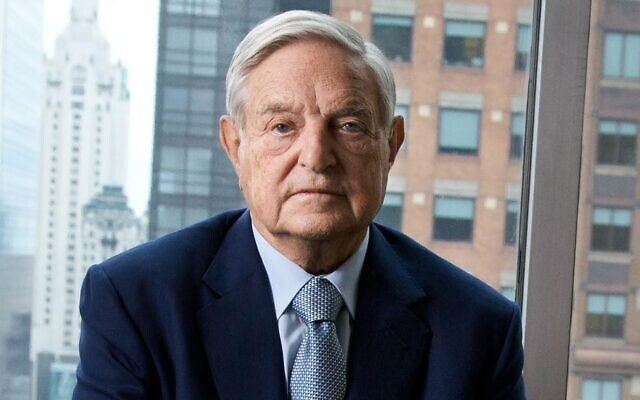 George Soros in a portrait for the film 'Soros.' (Courtesy Vital Pictures)