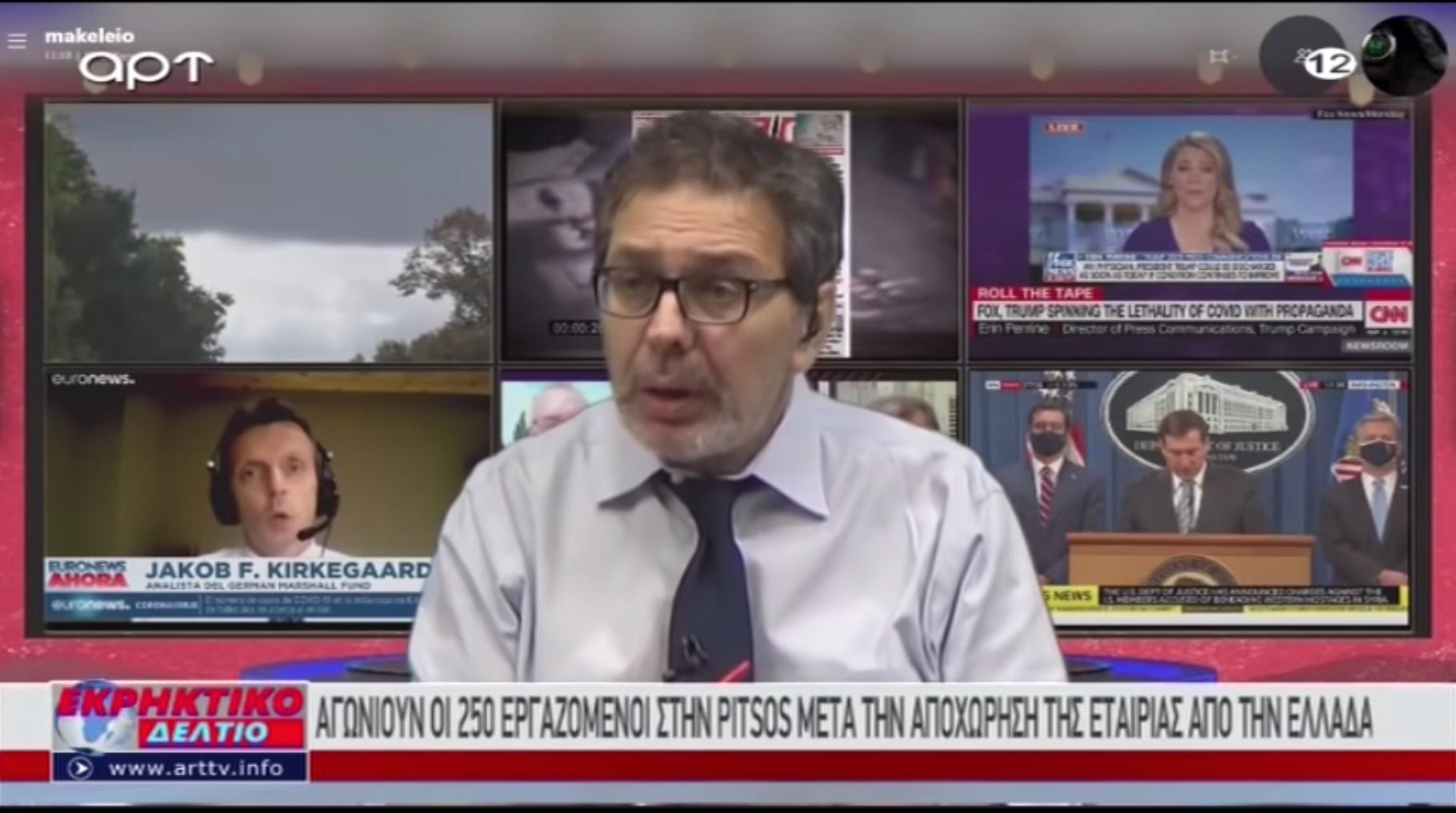 Pert nyert a görög zsidó vezető az őt tolvajnak tituláló kiadó ellen