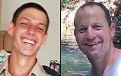 The victims of the IAF plane crash on November 24, 2020 -- Maj. Itai Zayden (R) and Cpl. Lihu Ben-Bassa (L). (Facebook)