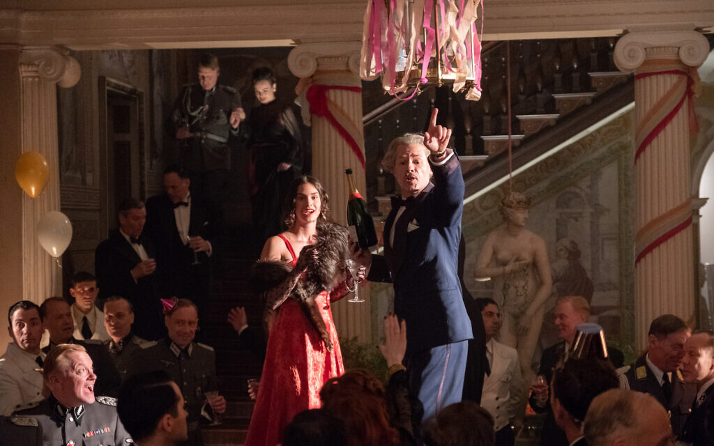Guy Pearce as Han Van Meegeren in 'The Last Vermeer.' (Courtesy TriStar Pictures)