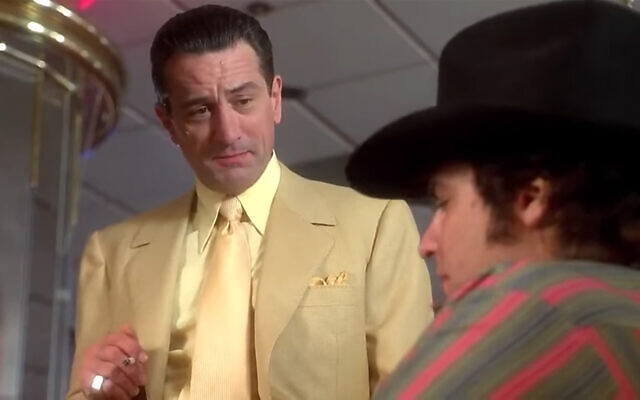 "Robert De Niro plays Sam ""Ace"" Rothstein in Martin Scorsese's epic crime drama ""Casino."" (Screenshot/YouTube)"