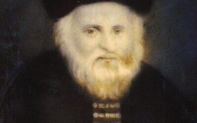 R. Eliyahu of Vilna, the Vilna Gaon, by Winograd. (Wikipedia, public domain)