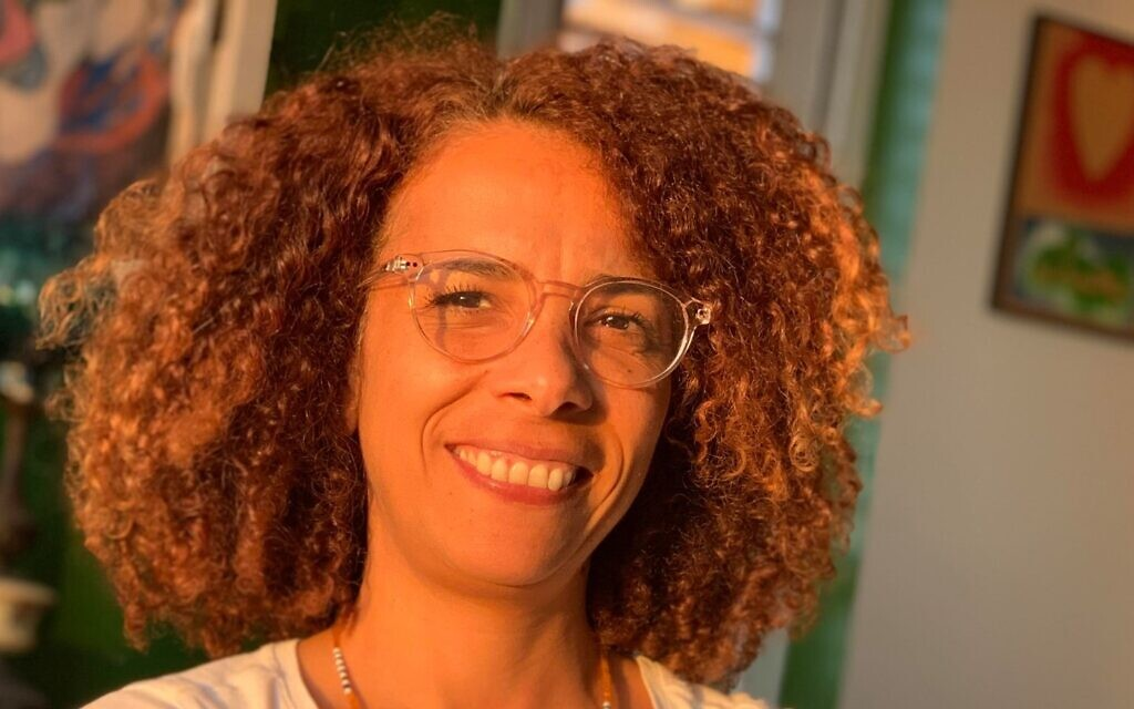 Ibtisam Mara'ana-Menuhin, a film director from Fureidis (courtesy)