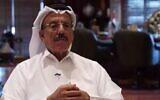 Emirati businessman Khalaf Ahmad Al Habtoor (Channel 13 screenshot)