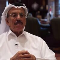 Emirati businessman Khalaf Ahmad Al Habtoor (Channel 13 screenshot)