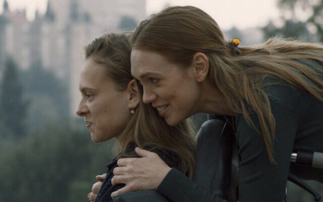 "Shira Haas (L) and Alena Yiv star in the movie ""Asia."" (Daniella Nowitz)"
