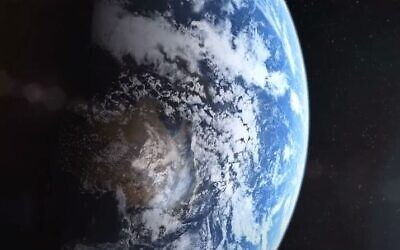 An illustrative image of Earth, as viewed from space (YouTube screenshot)