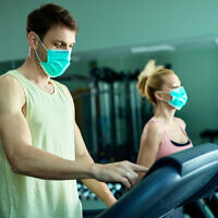 A gym during the pandemic (Drazen Zigic via iStock by Getty Images)
