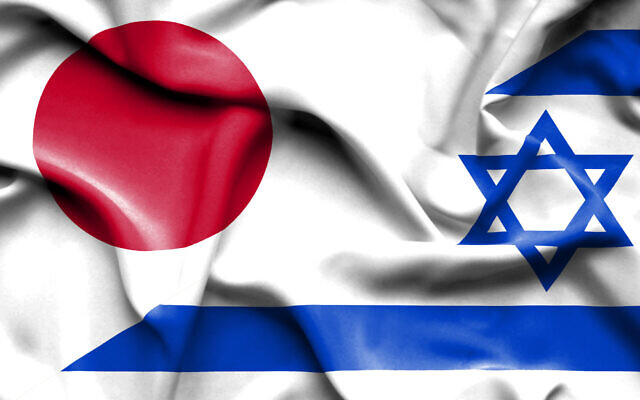 Waving flag of Israel and Japan (alexis84; iStock by Getty Imaging)