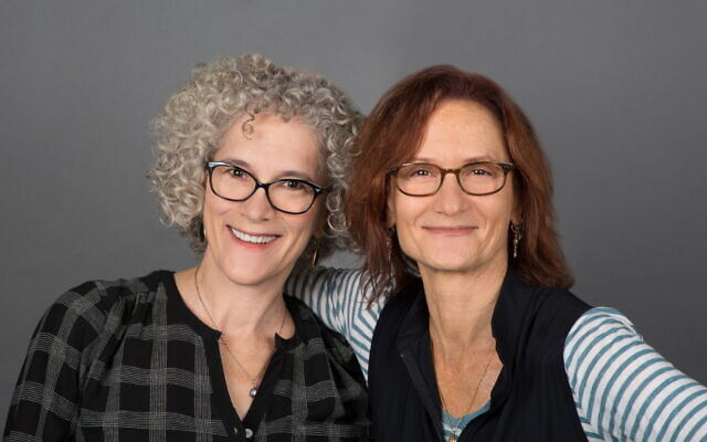 'Out of My Head' Producer Jacki Ochs (left) and writer/director Susanna Styron (Teri Slotkin)