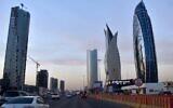 Newly constructed towers in Riyadh, the Saudi Arabian capital and main financial hub, on December 16, 2020. (FAYEZ NURELDINE / AFP)