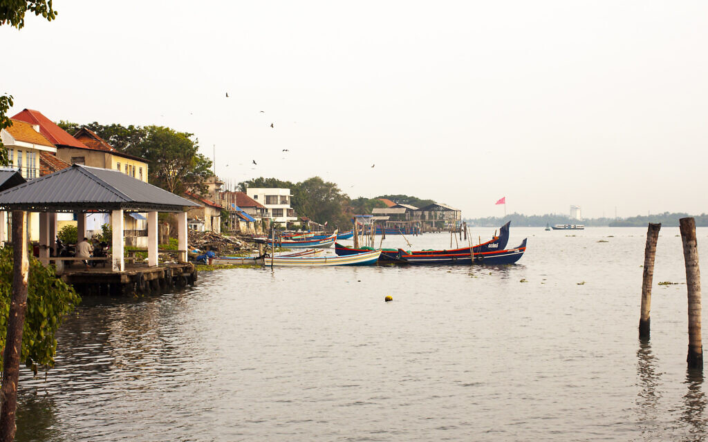 Kochi sits on the Arabian Sea. (Christabel Lobo/ via JTA)