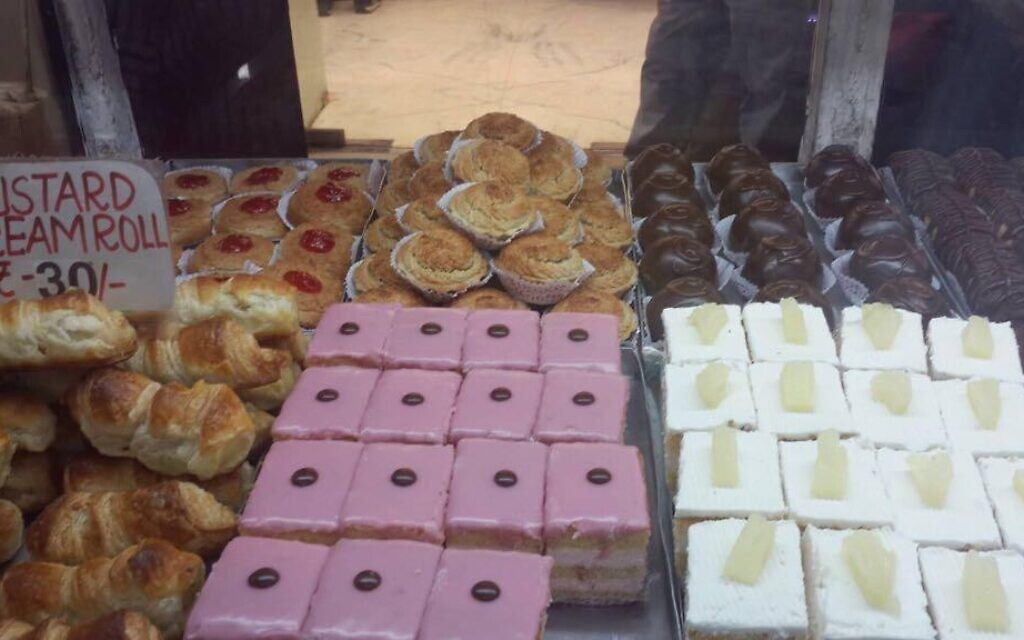 A selection of some of the Nahoum & Sons pastries. (Isaac Nahoum/Nahoum & Sons/ via JTA)