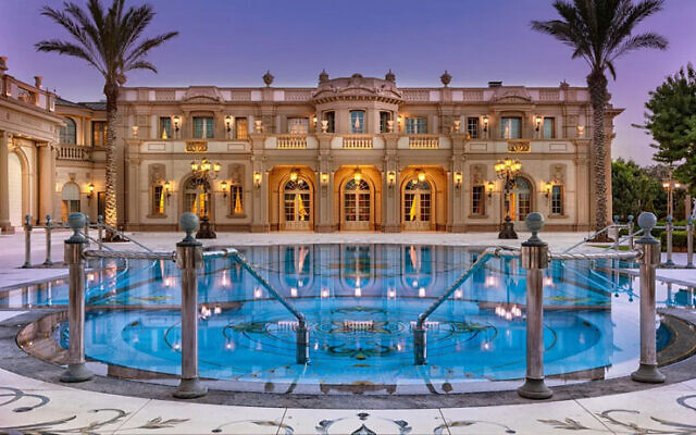 A mansion for sale for NIS 845 million in Caesarea. (via Sotheby International Realty)