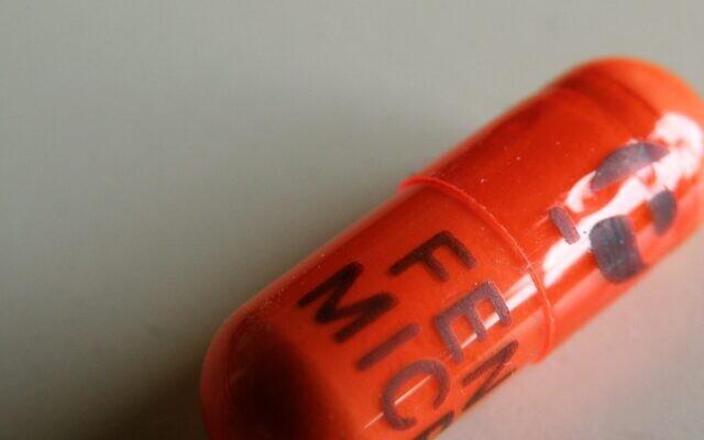 A fenofibrate capsule. (Public Domain/ Dennis Sylvester Hurd, Flickr)