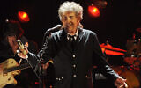 Bob Dylan performs in Los Angeles, January 12, 2012. (AP Photo/Chris Pizzello, File)