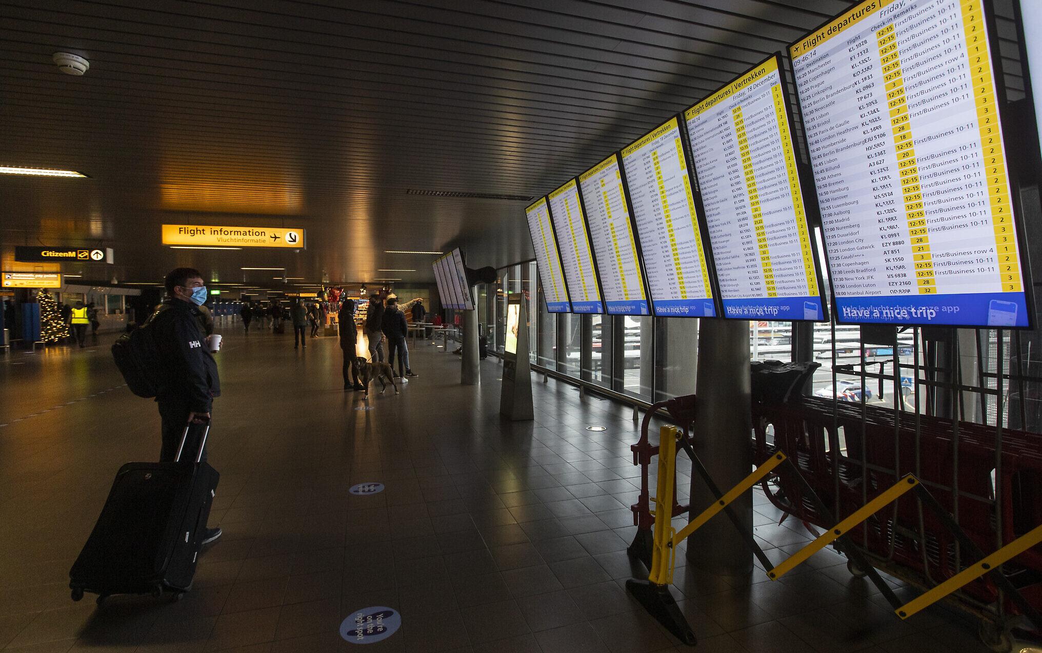 48-hour travel suspension from United Kingdom to Ireland over coronavirus strain