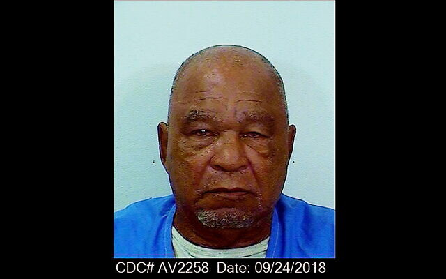 This Sept. 24, 2018, booking photo provided by the California Department of Corrections shows Samuel Little. Little, the man authorities say was the most prolific serial killer in U.S. history, has died. He was 80. California corrections department spokeswoman Vicky Waters said Little died Wednesday, Dec. 30, 2020. He had been serving a life sentence at a California prison since being convicted of three counts of murder in 2013. (California Department of Corrections via AP)